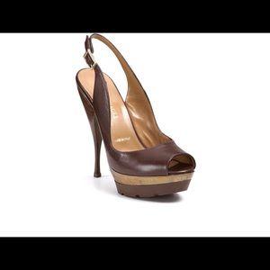Bruno Magli Platform Stiletto Leather